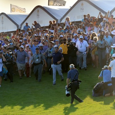 Chaos at PGA finish delights Mickelson, upsets Koepka
