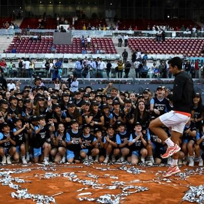Djokovic sees Madrid triumph as perfect Roland Garros platform
