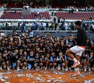 'Inspirational' Djokovic wins third Madrid title and 33rd Masters