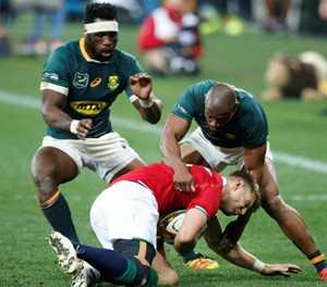 Springboks Du Toit, De Klerk to miss series decider against Lions