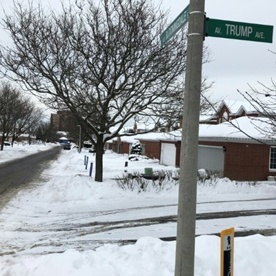 Ottawa residents seek to dump Trump street name