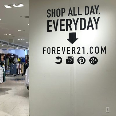 Fast-fashion retailer Forever 21 files for bankruptcy