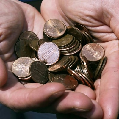 Time to change: Virus-hit US urges people to spend coins