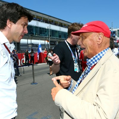 Lauda 'irreplaceable', says Mercedes chief Wolff