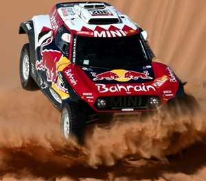 Peterhansel edges Al-Attiyah in Dakar stage 9