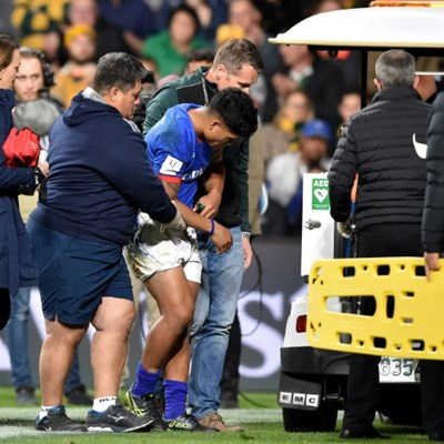 Samoa scrum-half Malolua out of World Cup with shoulder injury