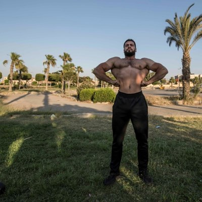 Egypt bodybuilders feel pain but no gain in virus lockdown