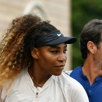 Serena in 'good place and pain-free' at Wimbledon, says coach