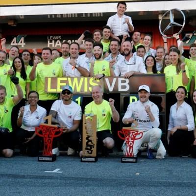 Mercedes dominance bad for F1 box ofice -- Hamilton