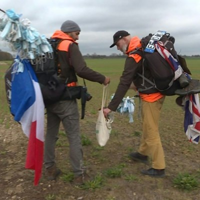 Viral trash: French Covid clean-up nets mounds of masks