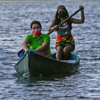 Weekly commute by canoe for Panama teacher to reach off-grid village kids