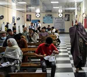 Passports please: Afghans queue up for escape lifeline