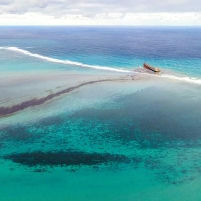 Mauritius braces to halt new oil spill as tanker breaks up