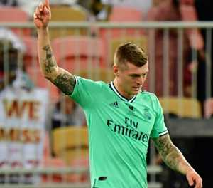 Kroos stunner helps Real Madrid through to Spanish Super Cup final