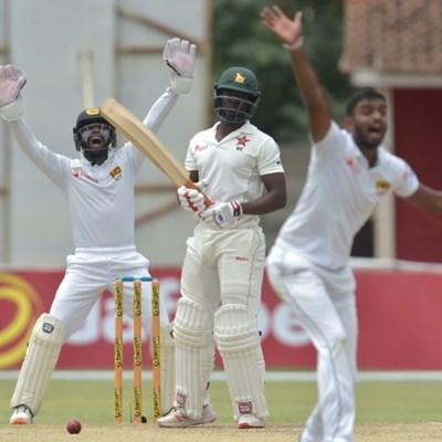 Embuldeniya strikes as Zimbabwe bowled out for 406