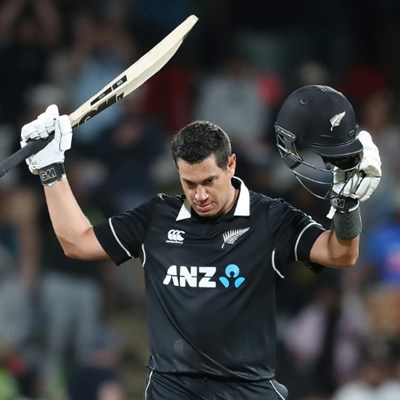 New Zealand's Taylor vows to bat on after unique 100-caps milestone