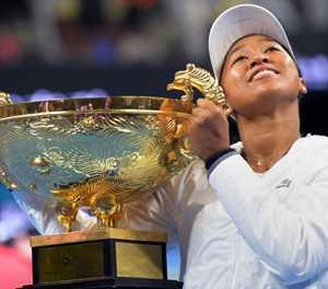 Osaka savours Beijing title after US Open letdown