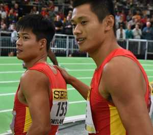 Rivalry pushes red-hot Chinese sprinters to the limit