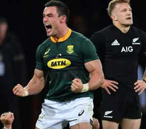 'Awesome' day for South Africa as Springboks upset All Blacks
