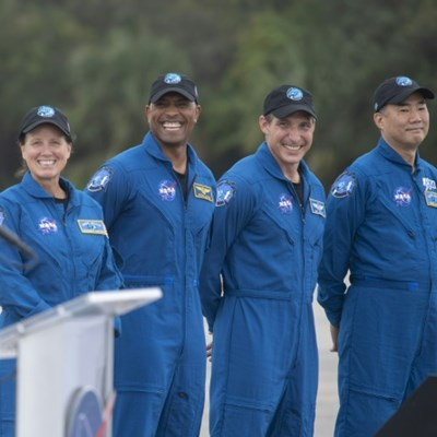 SpaceX ready to take four astronauts to ISS Saturday