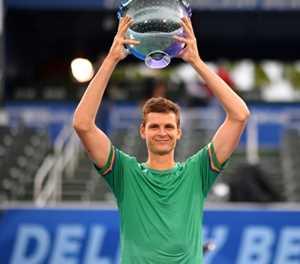 Hurkacz beats Korda for Delray Beach ATP title