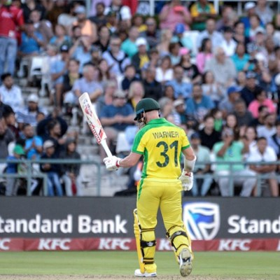 Warner, Finch help Australia thrash South Africa in series decider