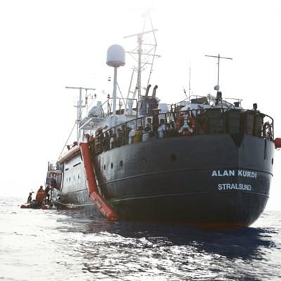 Alan Kurdi rescue ship picks up another 44 migrants