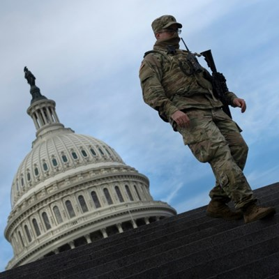 Washington on lockdown as security threats mount