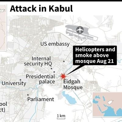 Multiple rockets hit Afghan capital Kabul