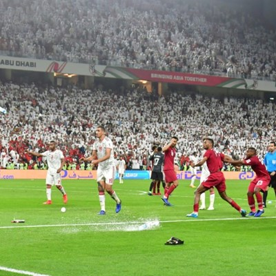 Asian football body probes shoe-throwing semi-final