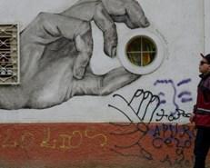 Chile's Valparaiso, an open air graffiti and mural art gallery
