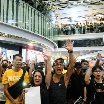 Event cancellations mount in protest-wracked Hong Kong