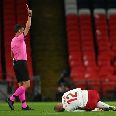 Southgate backs Maguire but demands England learn from red card woes