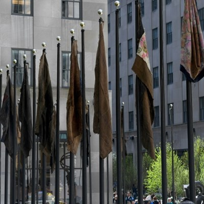 Rockefeller Center becomes art gallery for two months