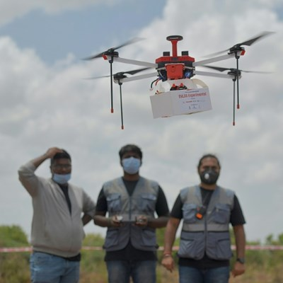 India tests longer-range drone flights, eyes Covid-19 vaccine deliveries
