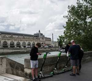 Paris e-scooters under pressure to prove green credentials