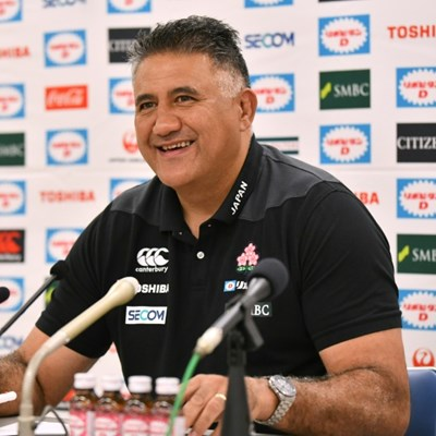Japan 'on track' to make Rugby World Cup history: coach