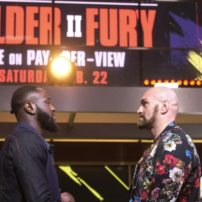 Wilder mocks 'pillow fists' of Fury ahead of rematch