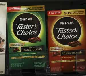 Coffee helps Nestle brew up sales growth