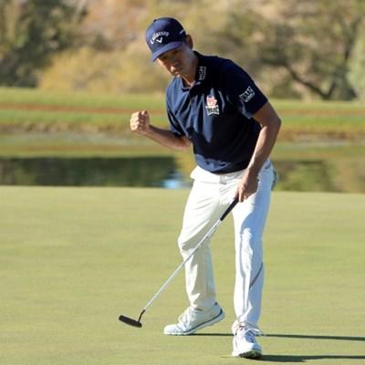 Na fires 61 to take 2-shot PGA lead in Las Vegas