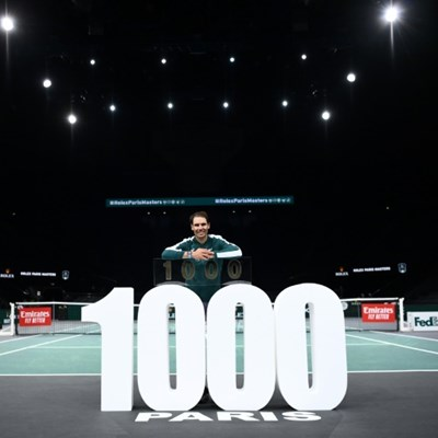 Nadal notches 1,000th win, Schwartzman closes on Tour Finals