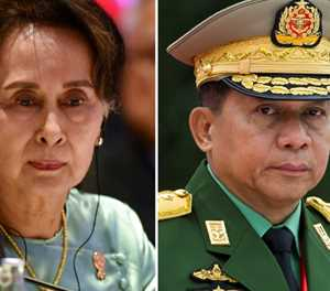Myanmar junta leader arrives in Moscow for security conference