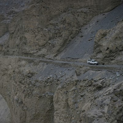 Daring death on the remote roads of Pakistan's north