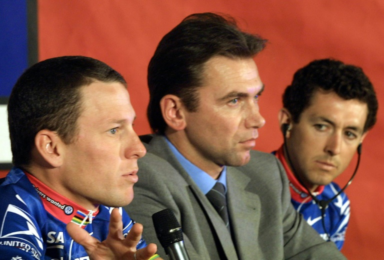 3cf299ee5 Armstrong manager Bruyneel banned from cycling for life