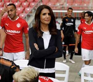 Israel's first woman football boss blazes a desert trail