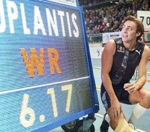 Fat-shedding Duplantis promises more after pole vault world record