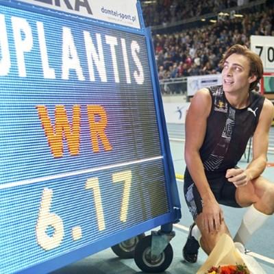 Fat-shedding Duplantis promises more after pole vault world record