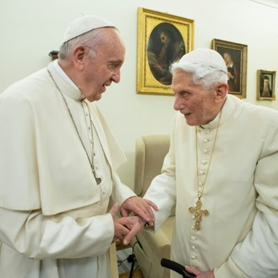 Ex-pope's shadow Vatican role in the spotlight