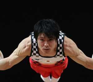 Japanese gymnastics star Uchimura books spot at fourth Olympics