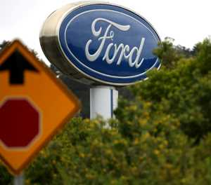 Ford shares down as it warns of big 2Q loss
